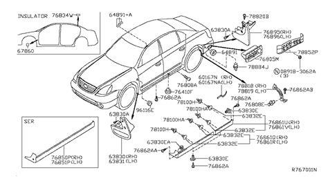 Nissan Parts by 2004 Nissan Altima Sedan Oem Parts Nissan Usa Estore