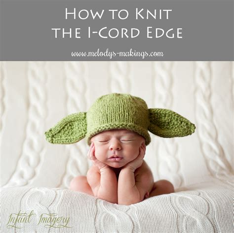 how to knit i cord how to knit the i cord edge melody s makings