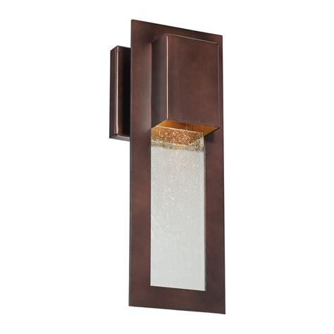 modern outdoor lighting modern outdoor wall light in bronze 72381 246