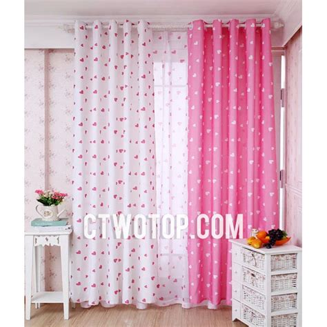 pink curtains nursery pink and white nursery curtains thenurseries