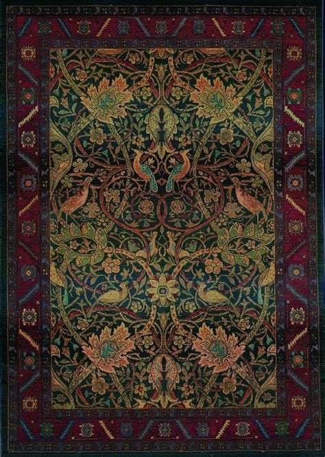 mission style area rugs 5x8 william morris arts crafts mission style multi