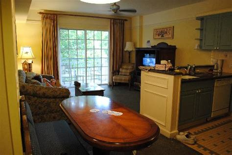 2 Bedroom Suites In Orlando Fl living kitchen dining picture of disney s saratoga
