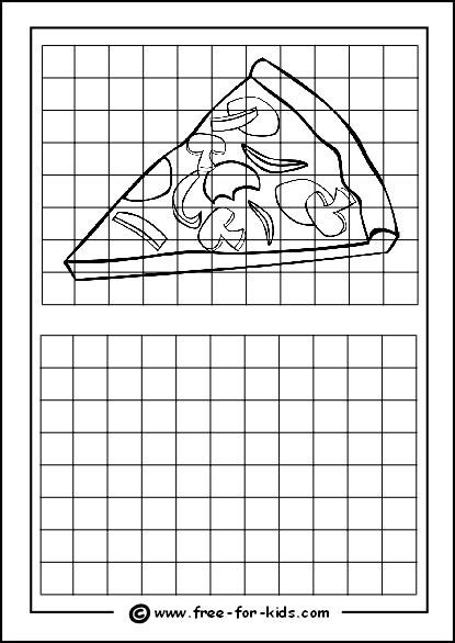grid drawing grid drawings for drawing with grids worksheets