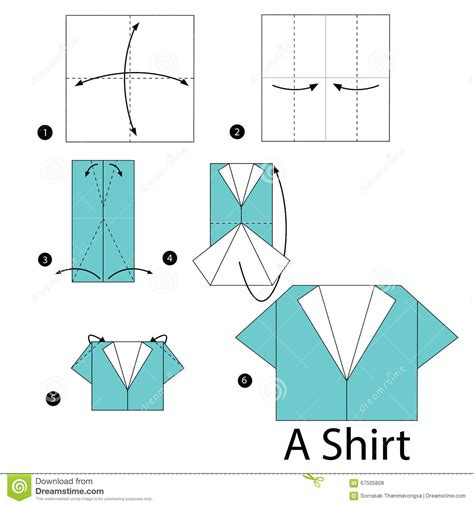 how to make an origami shirt step by step how to make origami a shirt