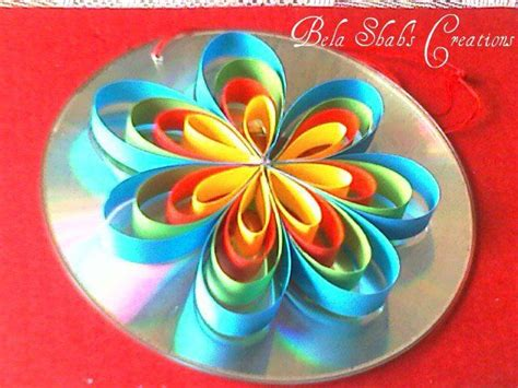 waste cd craft for 17 best images about cd crafts on quilling