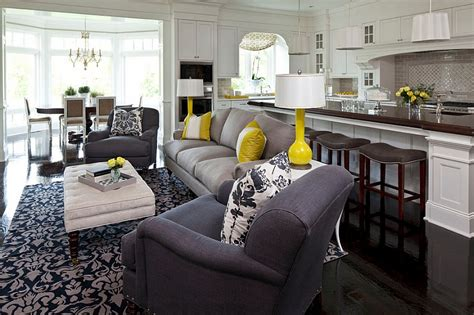 small living room ideas grey gray and yellow living rooms photos ideas and inspirations