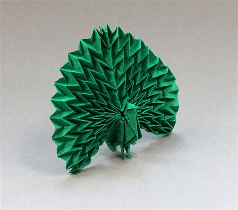 how to make origami peacock peacock maekawa