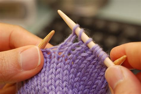 yo knit what do knitted increase stitches look like cat knits a lot