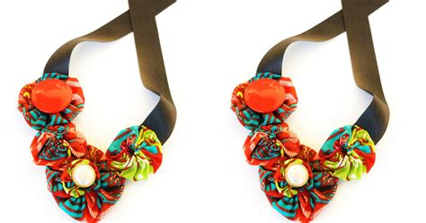 how to make ankara jewelry ankara fabric diy necklace you need to try this weekend