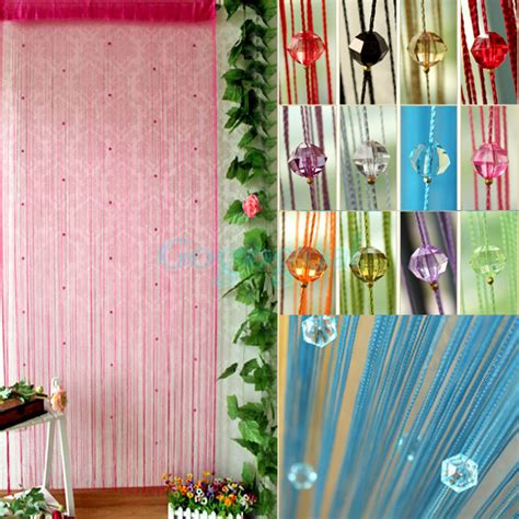 insect beaded door curtains acrylic beaded string curtain fly insect door screen