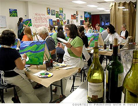 paint with a twist franchise painting with a twist 5 franchises cnnmoney