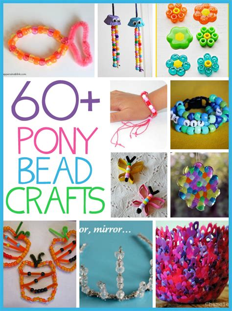60 Pony Bead Crafts Family Crafts