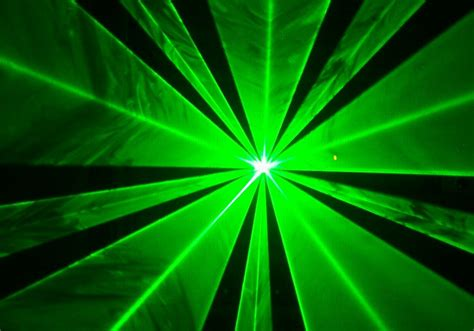 animated light show laser display green