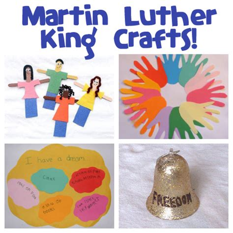 mlk crafts for martin luther king day family crafts