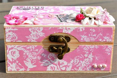 home d 233 co boite en bois customis 233 e shabby le de la boutique la aux fleurs