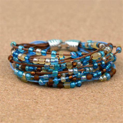 diy bead bracelets how to make an easy boho beaded bracelet blitsy