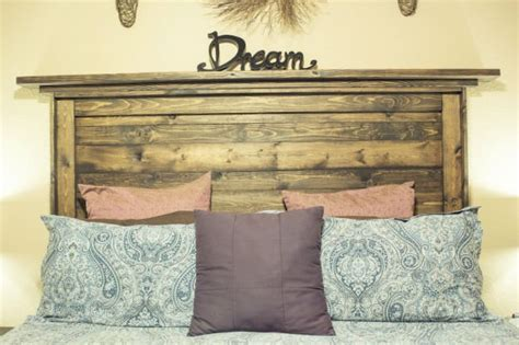 how to make a headboard out of wood how to make a reclaimed wood headboard diy ready