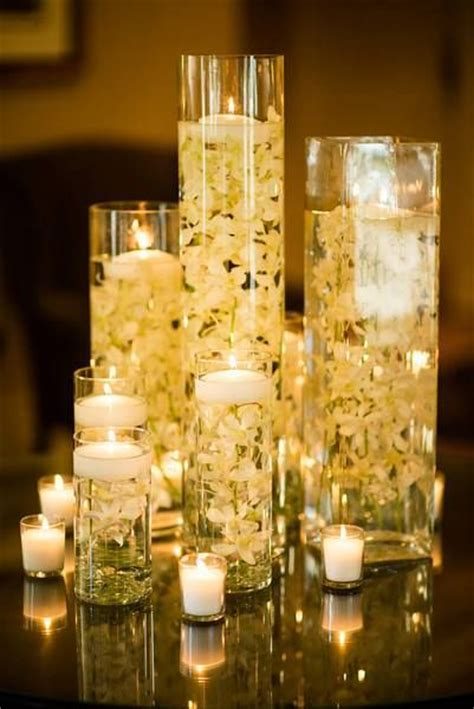 candle in water centerpiece 1000 images about floating candles flowers water on