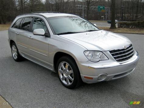 2007 Chrysler Pacifica Limited by Bright Silver Metallic 2007 Chrysler Pacifica Limited Awd
