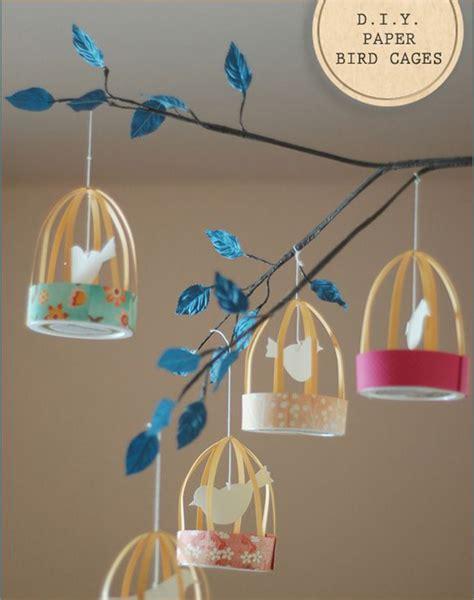 paper bird cage craft diy paper bird cage lanterns 187 bellissima bellissima