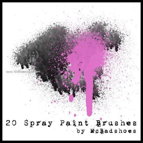 spray paint psd brush spray paint 14 adobe photoshop brushes free