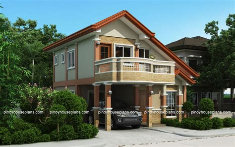 2 storey house plans php 2015021 two storey house plan with balcony house plans