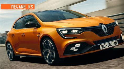 Renault Megane Rs by 2018 Renault Megane Rs Revealed Price Release Specs