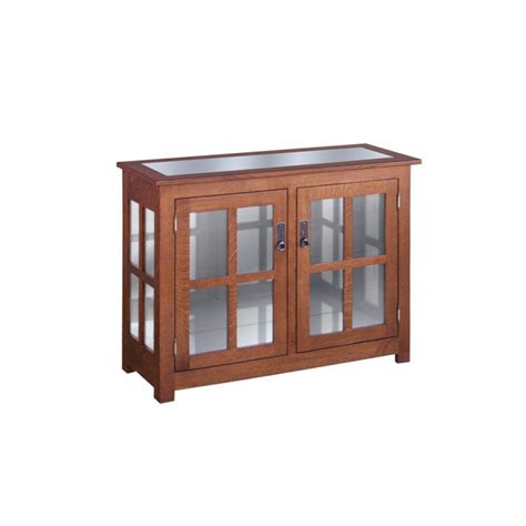 door curio cabinet curio cabinet two door amish crafted furniture