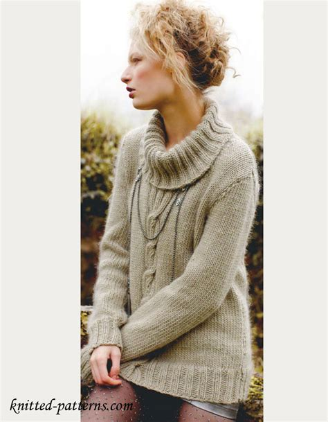 S Sweater Knitting Pattern Free