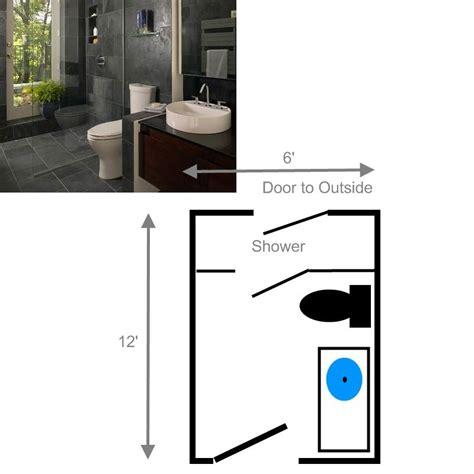 large bathroom floor plans 15 free sle bathroom floor plans small to large