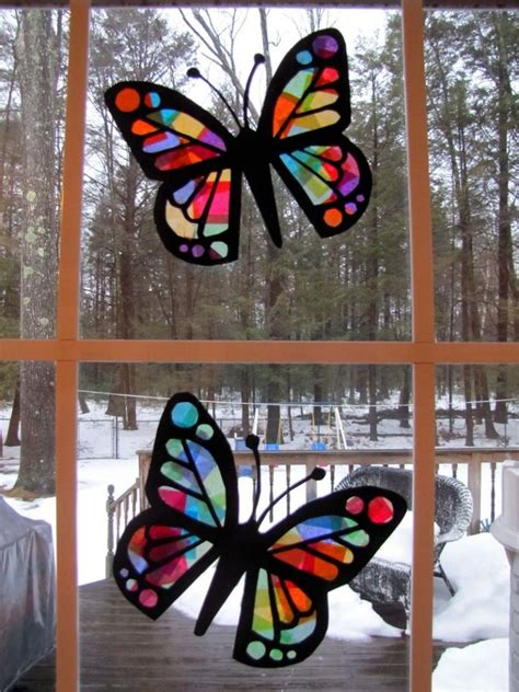paper stained glass craft pin by kristi polston on s day