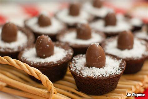 gateau pour p 226 ques nids fondants au chocolat je papote