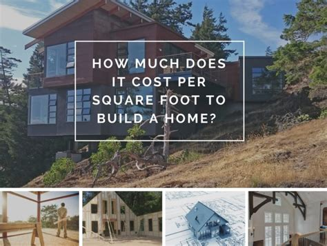 average cost per square foot to build a house in tennessee 2016 how much does it cost per square foot to build a home
