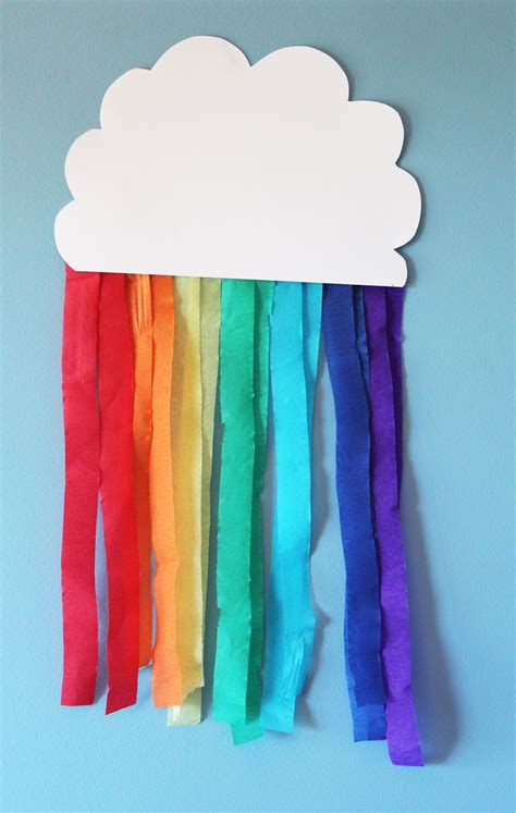 rainbow craft for rainbows rainbow streamer rainbow rainbow craft