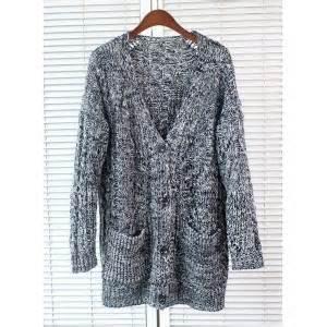womens chunky knit cardigan stylish s v neck sleeve chunky knit cardigan