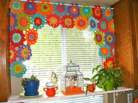 crochet kitchen curtains 14 kitchen curtains beautiful crochet stuff