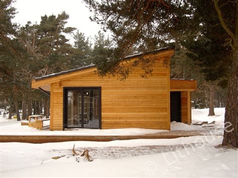 woodwork in house flo eric house modern extremely well insulated eco