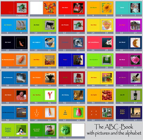 abc book pictures spohn abc book