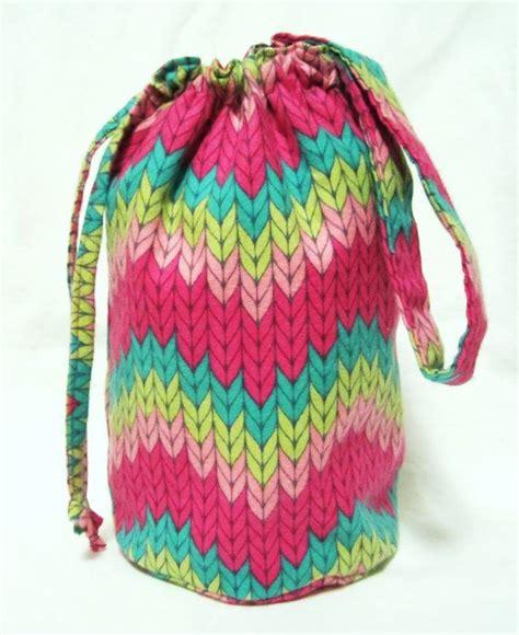 small knitting projects small knitting project bag stockinette stitches