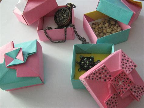 Origami Gift Boxes By Darkumah