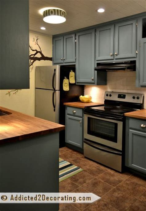 behr paint color hallowed hush before after my kitchen finally finished small