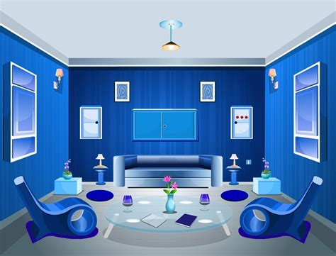 blue interior design blue interior design living room color scheme