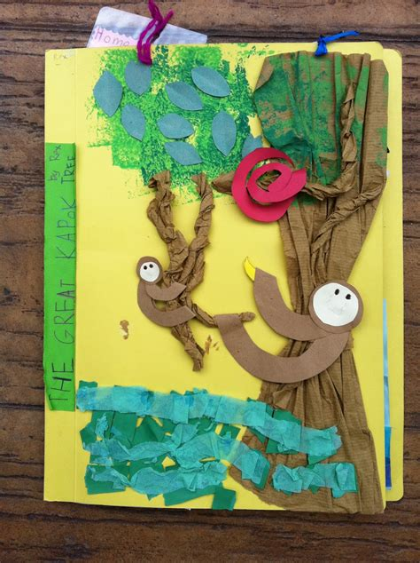 rainforest crafts for beans the great kapok tree lapbook project