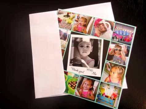 card with photos diy photo collage card diy inspired