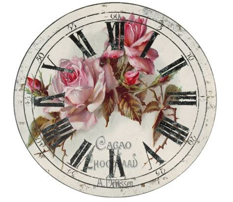 decoupage clock 247 best images about free printable clock on