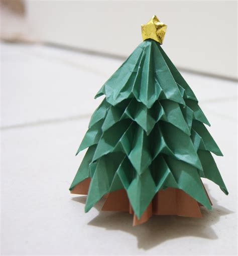 origami paper tree chasing wool just another weblog
