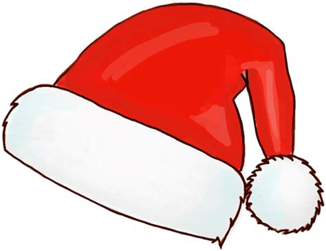 santa and hats how to draw santa hats with easy steps how to draw step