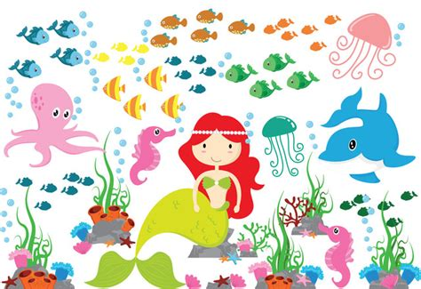 mermaid wall sticker mermaid wall sticker wall sticker the sea