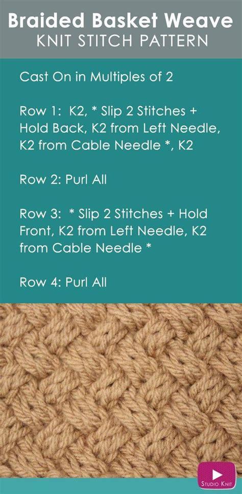 how to basket weave knit 25 best ideas about basket weave crochet on