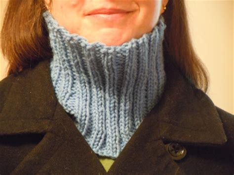 neck warmer knitting pattern for knitting patterns from craft